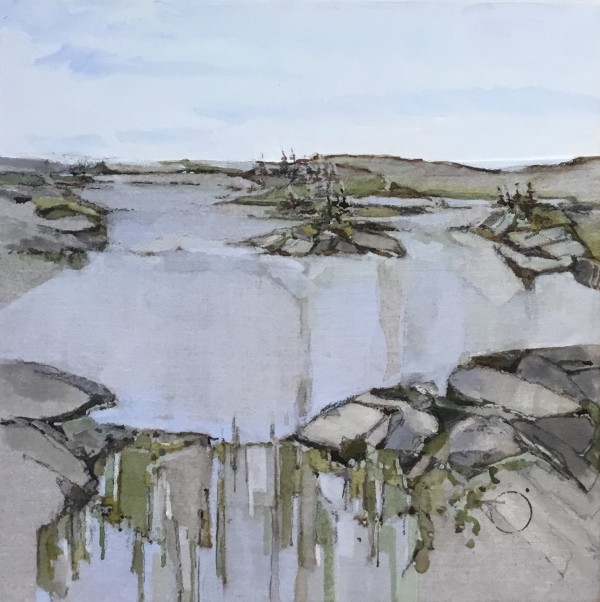 Inland Pond IP 43-42 by Barbara Houston