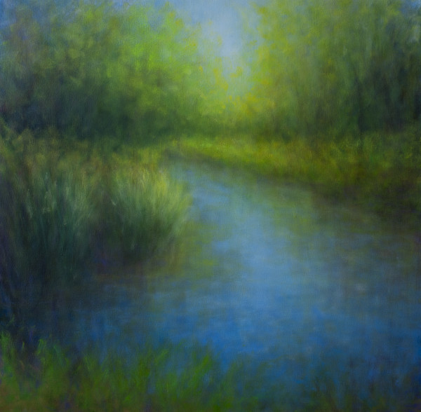 The Chalk Hill Pond by Victoria Veedell