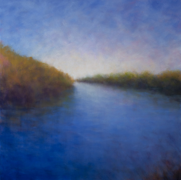 Summer Light on the Estuary by Victoria Veedell