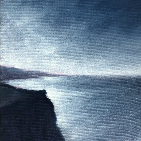 Winter Light Along the Coast by Victoria Veedell