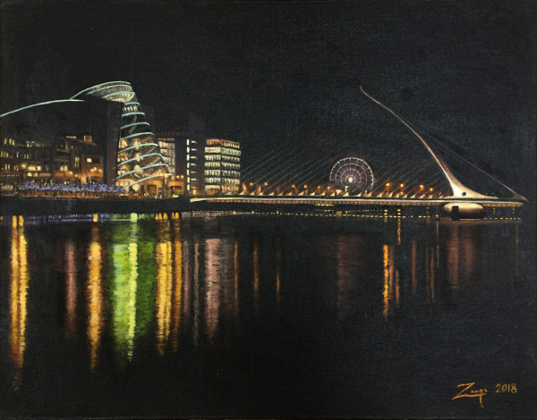 Dublin Docklands by Zanya Dahl