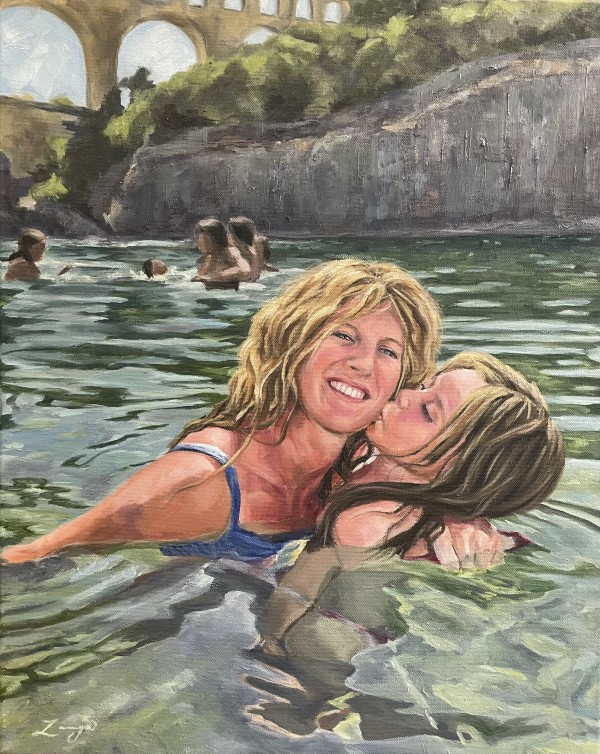 River Kiss by Zanya Dahl