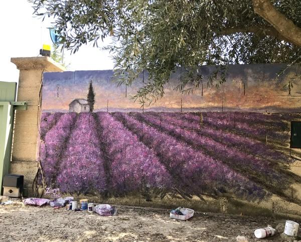 Lavender Field by Zanya Dahl