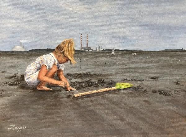 Sandymount Strand by Zanya Dahl