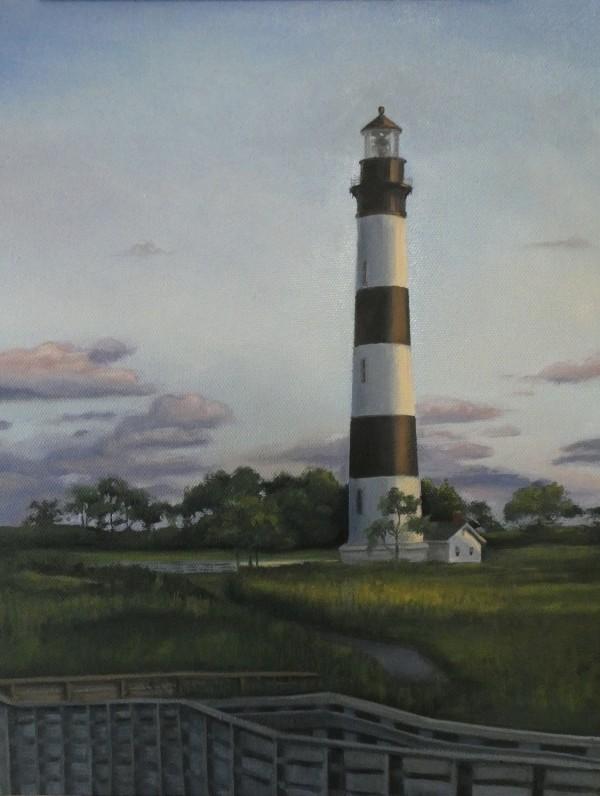"""""""Bodie Island Lighthouse"""" by Kate Derstein"""