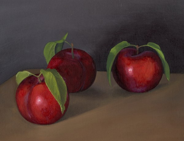 """""""Red Plums"""" by Kate Derstein"""