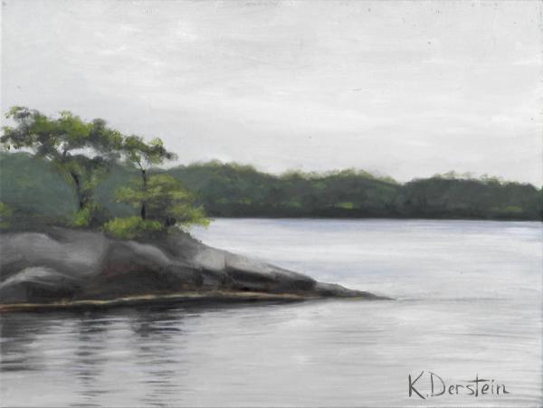 """Winnegance Bay"" by Kate Derstein"