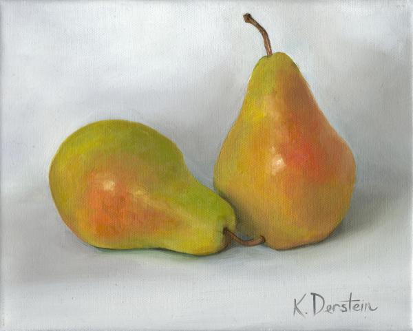 """""""Pair of Pears"""" by Kate Derstein"""