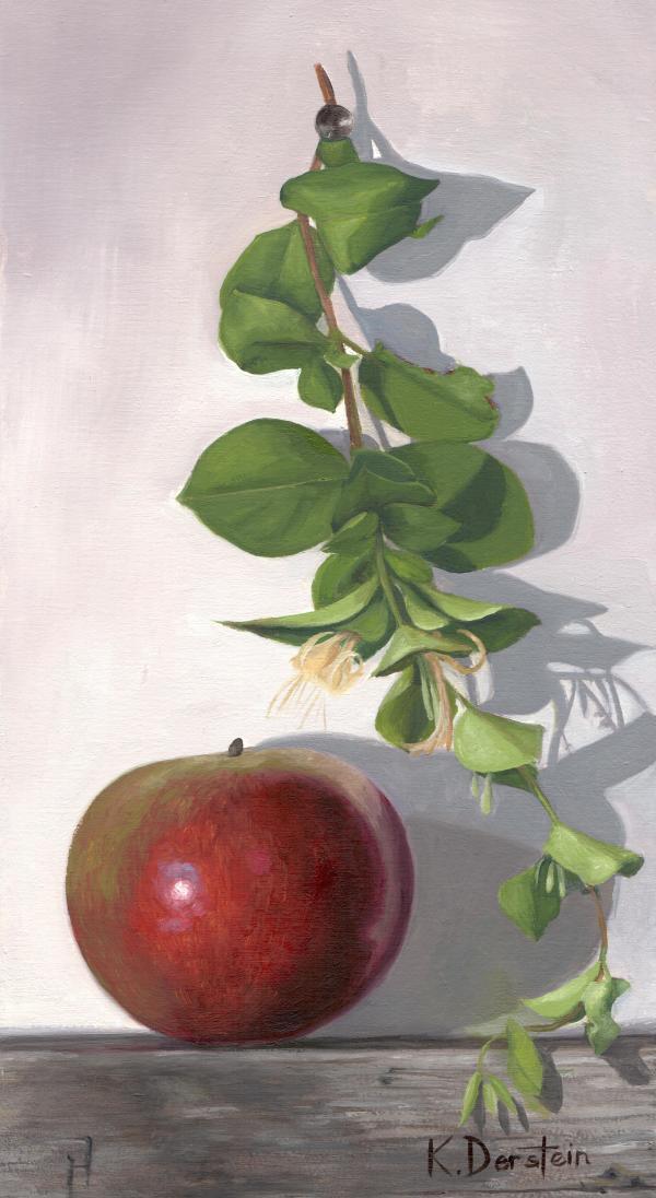 Apple and Honeysuckle Vine by Kate Derstein