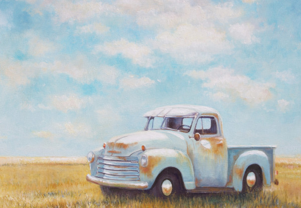 Big Sky Baby blue by Wendy Marquis
