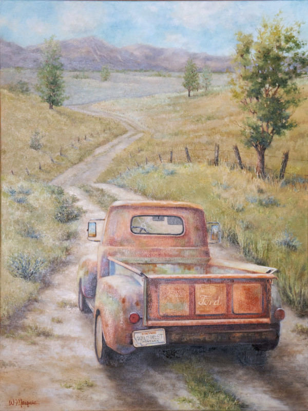 Dirt Road Dreaming by Wendy Marquis