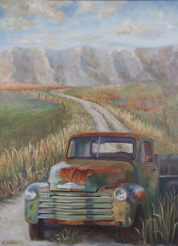 Purple Mountain Road by Wendy Marquis
