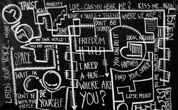 Words in White by Alejandra Sieder