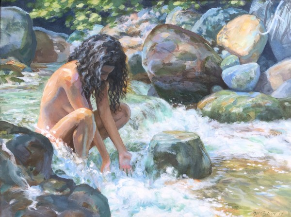 Water Offering by Michael Zieve