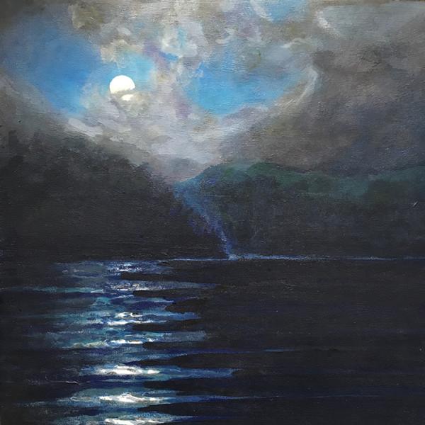 Diamond Point in Moonlight by Sarah Robinson