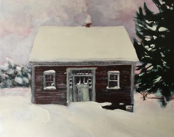 J's Grandfather's home Cape Breton by Sarah Robinson