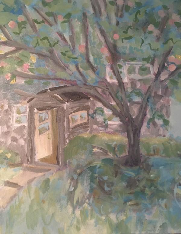 Siberian Apple Tree 2 by Sarah Robinson
