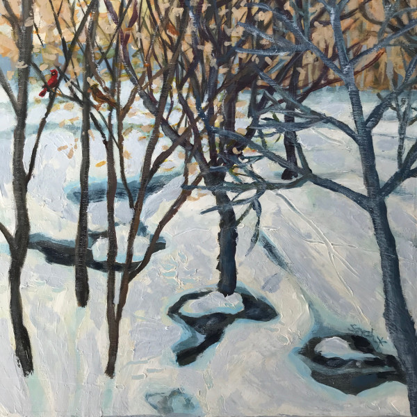 Woods, L'Ile-Perrot - study by Sarah Robinson