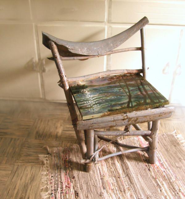 Bark Lake chair by Sarah Robinson