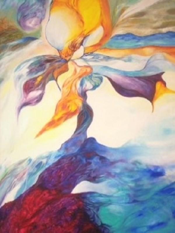 Cosmic Bloom by Phyllis Thomas