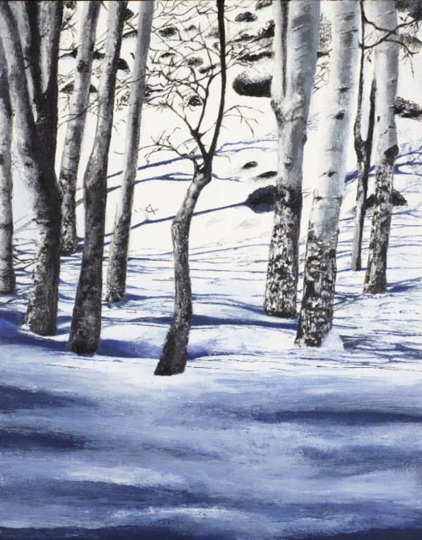 Winter & Tranquility by Phyllis Thomas