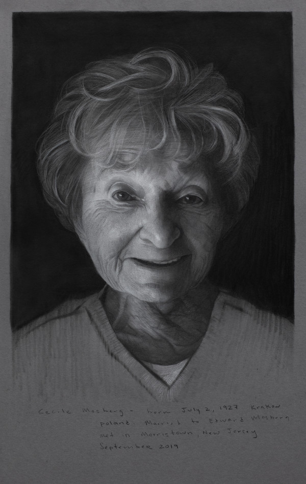 Cecile Mosberg by David Kassan