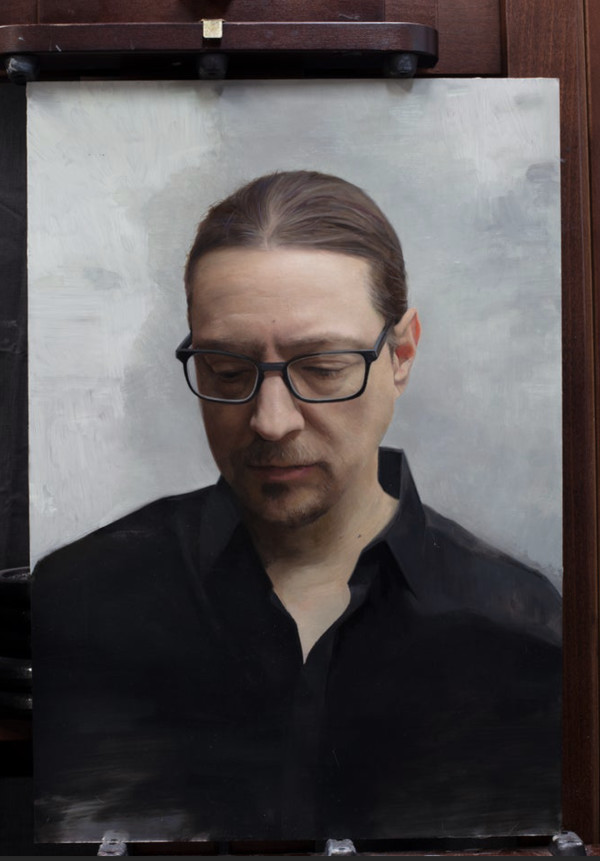 Self Portrait at 42 by David Kassan