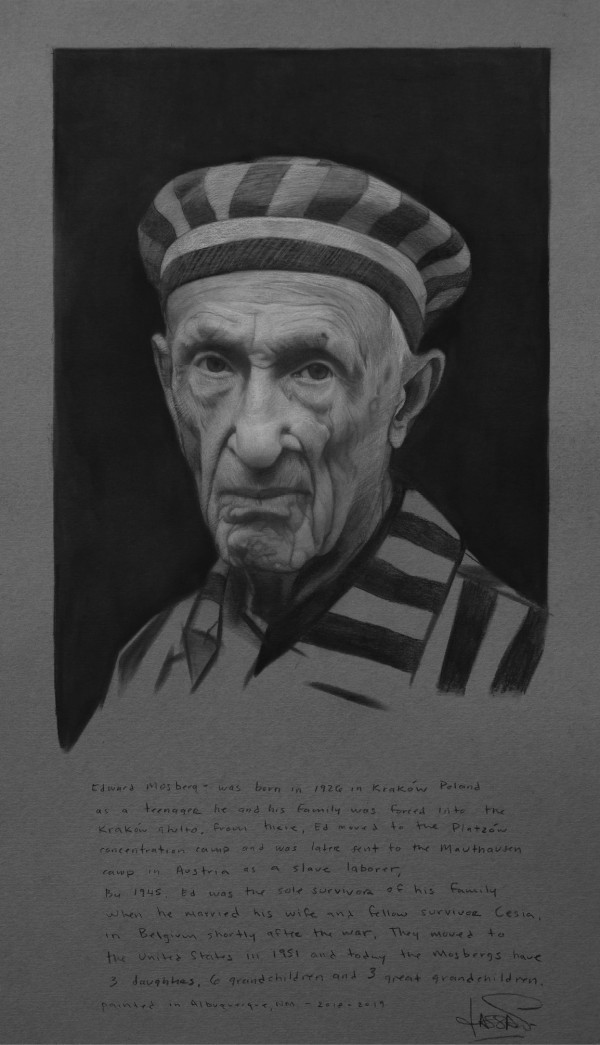 Study for Ed Mosberg by David Kassan