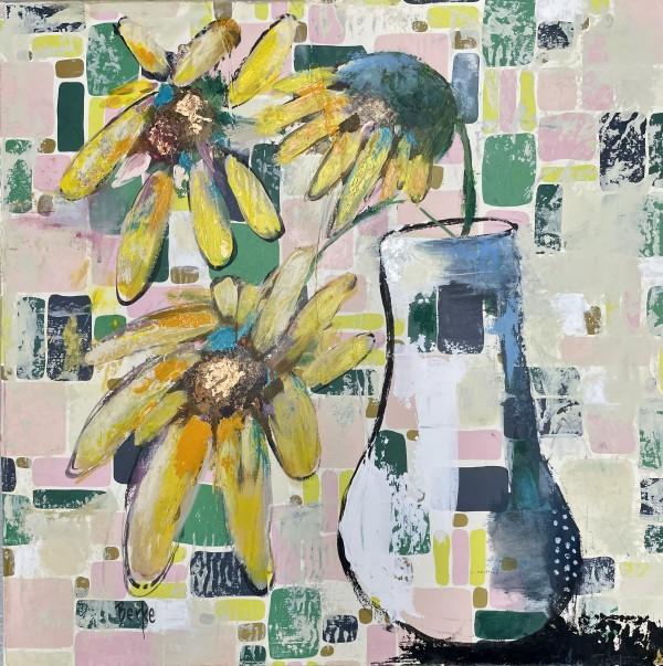 Retro Blooms by Jane Berke