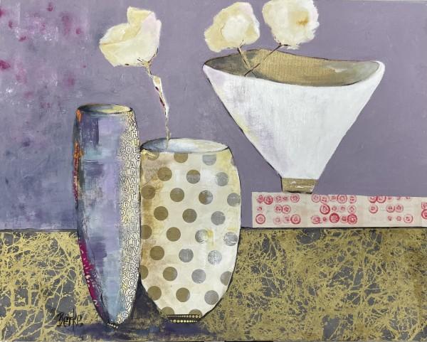 3 Vases by Jane Berke