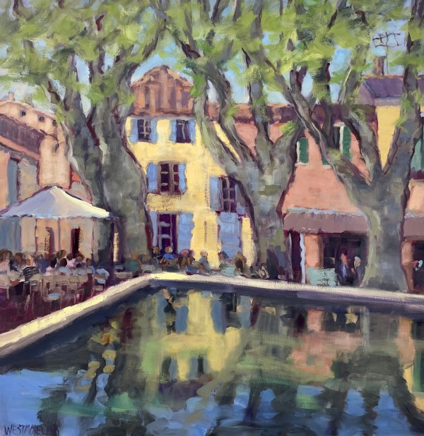 A sunny place in Provence by Susan Westmoreland