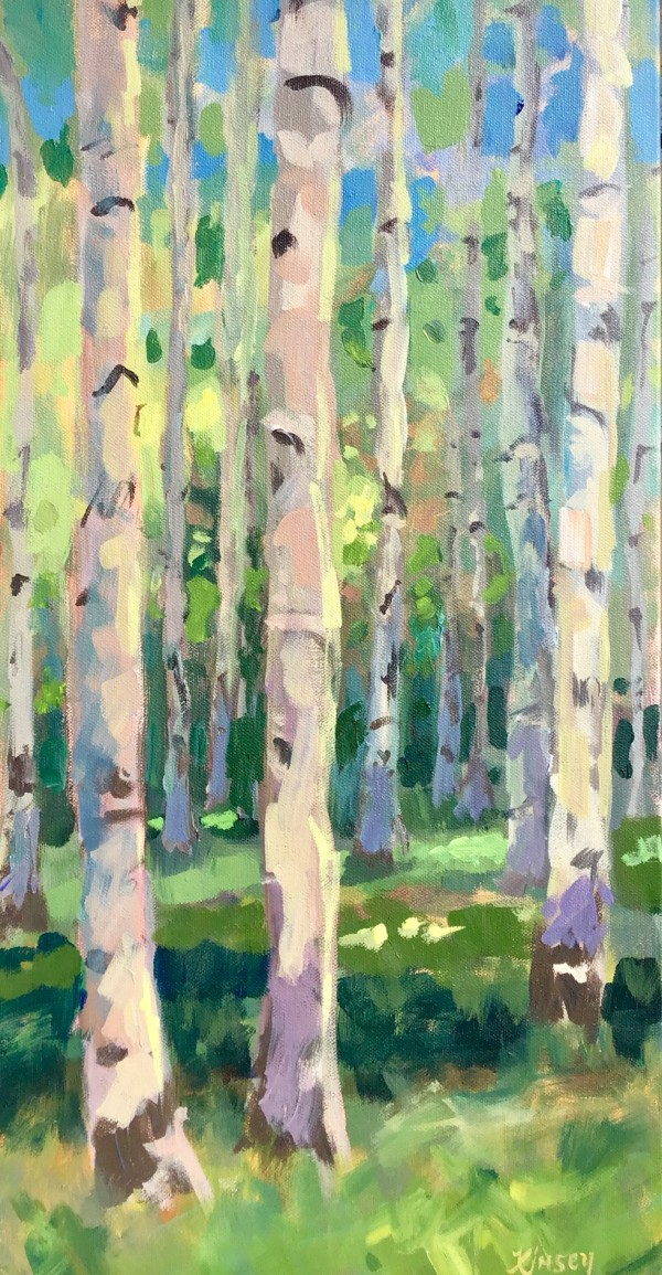 Aspen Lights by Lorraine Kimsey
