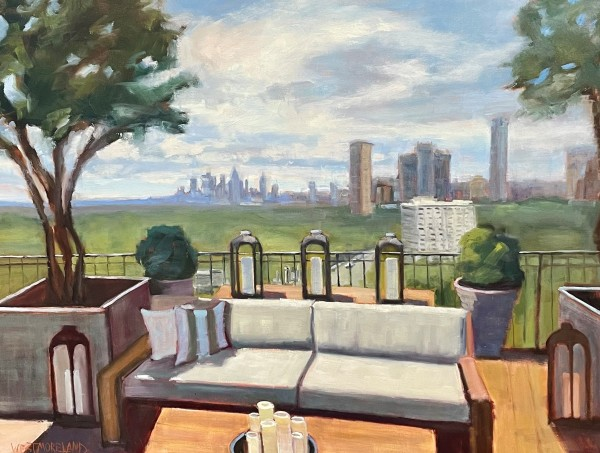 Atlanta Skyline by Susan Westmoreland