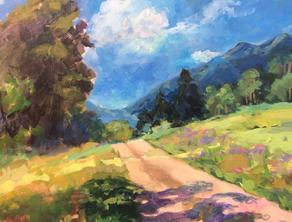 Country Road by Lorraine Kimsey