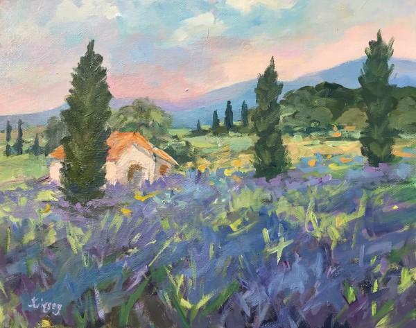 Farmhouse Lavender by Lorraine Kimsey
