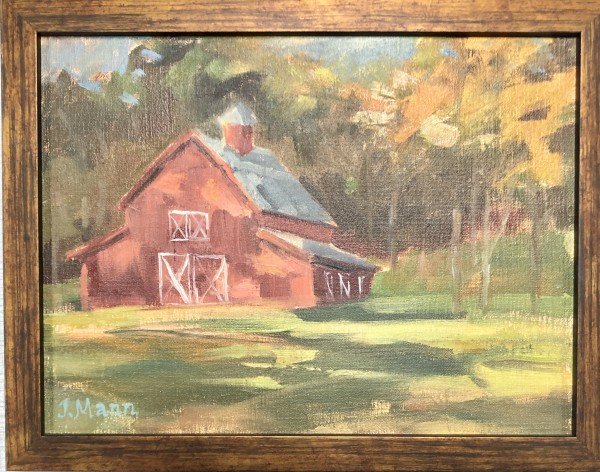 Highlands Barn by Julie Mann