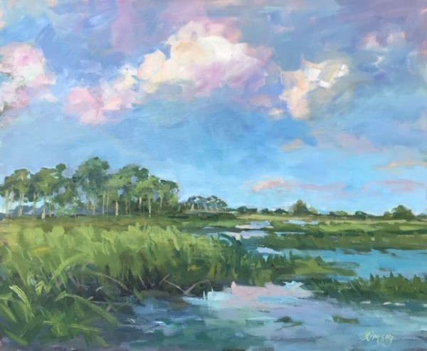 Florida Marsh by Lorraine Kimsey