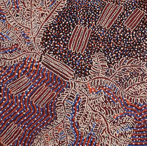 Watiya-Warnu Jukurrpa (Dreaming) by Katrina Nampijinpa Brown