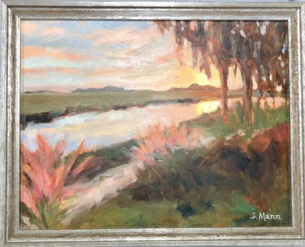 Marsh at Sundown by Julie Mann