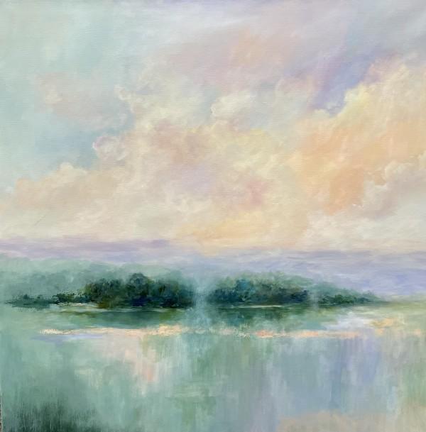 Misty Island by Maryam Askaran