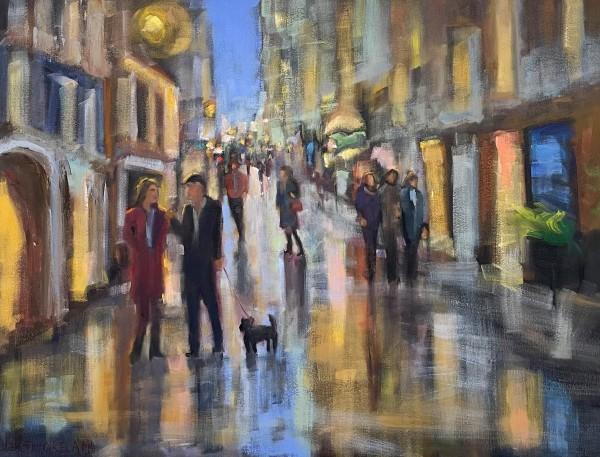 Paris Rainy Street by Susan Westmoreland