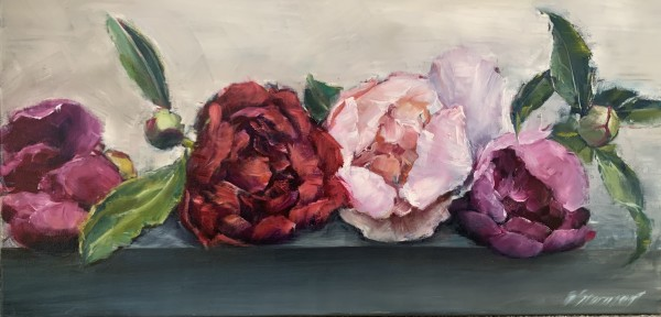 Peony Lineup by Beth Stormont