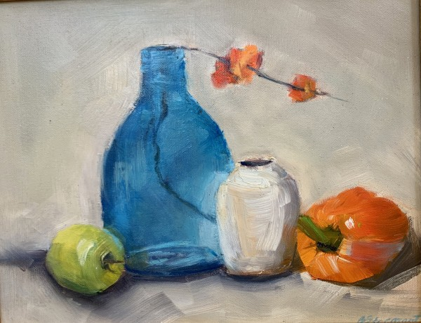 Orange and Pepper by Beth Stormont
