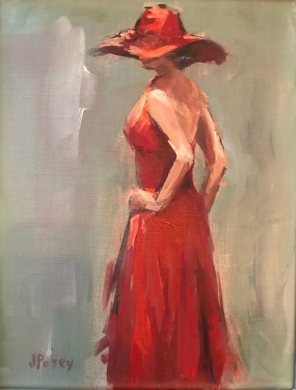 Red Dress by Jeany Posey
