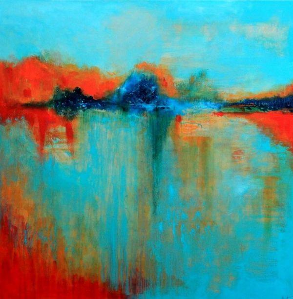 Scarlet Sunset by Maryam Askaran