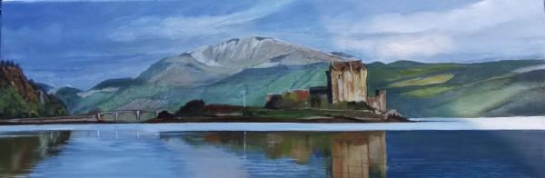 Eilean Donnan by Lois Dubber