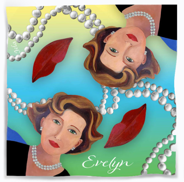 THE EVELYN  SCARF by judith angerman