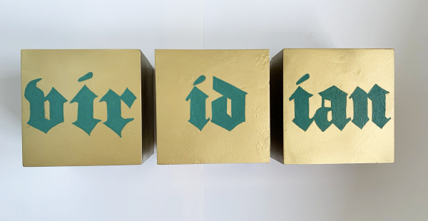 VIRIDIAN TRIPTYCH by judith angerman