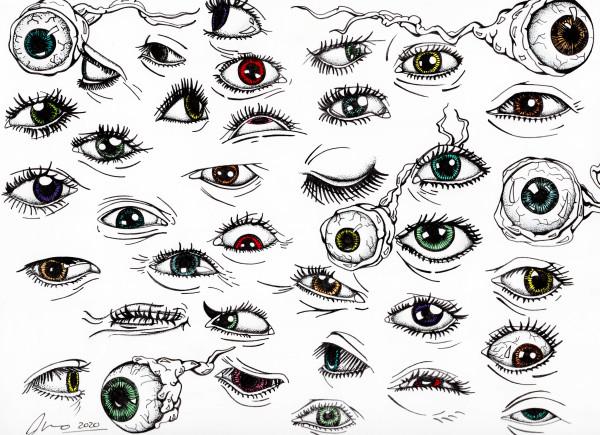 36 Eyes by Jessica Nunno