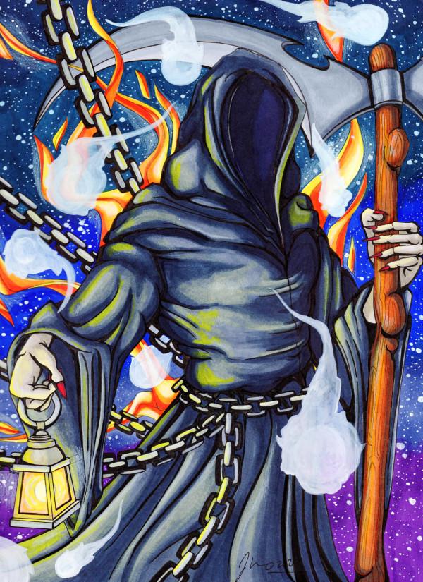 Grim Reaper by Jessica Nunno